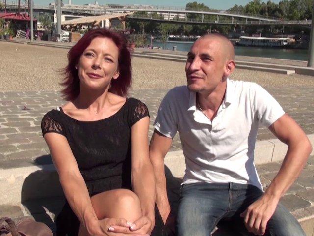 Une mère de famille Française se lance dans un porno amateur